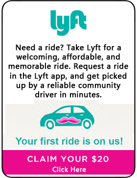 Lyft - Free Ride up to $20!