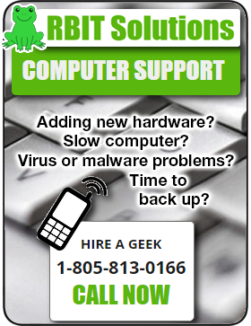 RBIT Solutions - Call us for computer help!