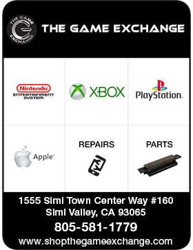 THE GAME EXCHANGE IS SIMI VALLEY'S #1 SHOP FOR GAMING NEEDS INCLUDING VIDEO GAMES AND ELECTRONICS.