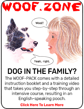 Woof.Zone - Our WOOF-PACK enables dogs to speak English!